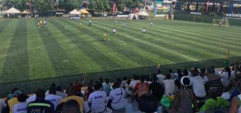 La cancha de La Independencia le dio la bienvenida al fútbol 7 PC de los Juegos Paradepartamentales