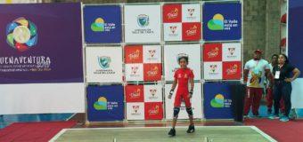 Selección de Yumbo se luce en primera jornada de pesas de los Juegos Departamentales 2019
