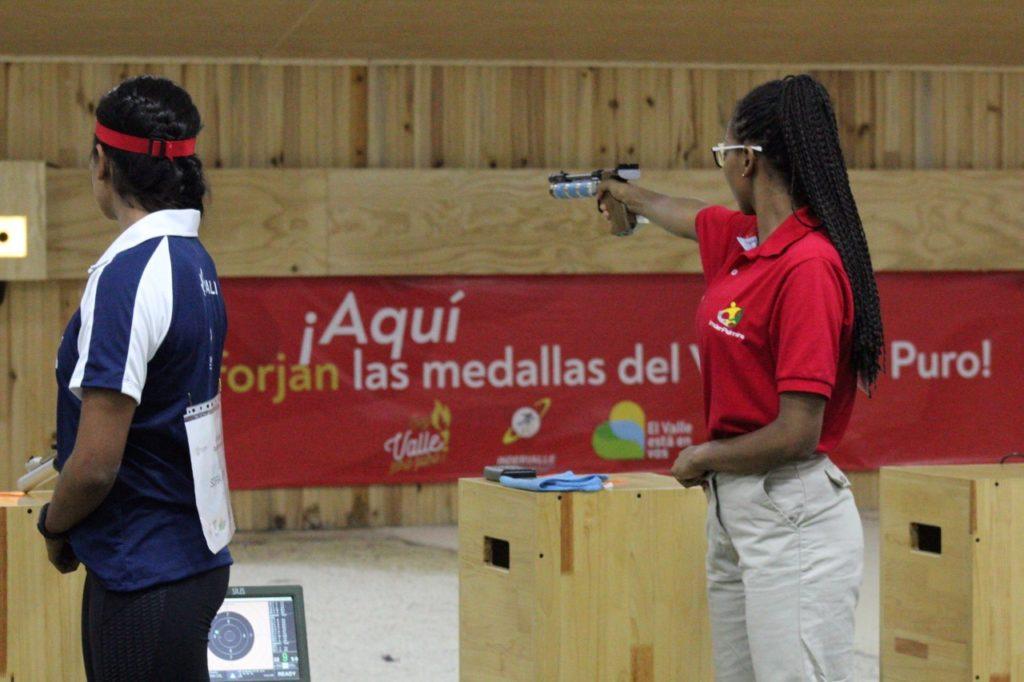Cali, Palmira y Yumbo disputaron sus primeras medallas en el tiro deportivo en los Juegos Departamentales 2019