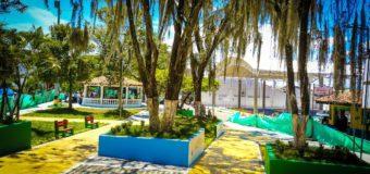 Ansermanuevo cuenta desde ya con un renovado parque principal gracias a la Gobernación del Valle e Indervalle