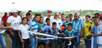 En el municipio de San Pedro, Gobernación del Valle e Indervalle impactan con obras en pro del deporte y la recreación