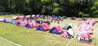 Indervalle realizó el Segundo Campamento Departamental Juvenil