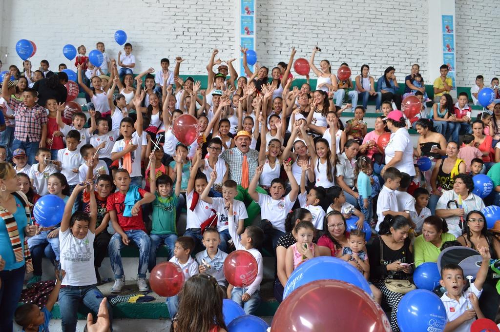 Niños del Valle del Cauca celebrarán el mes de la niñez, entre sonrisas, rondas, juegos y deporte