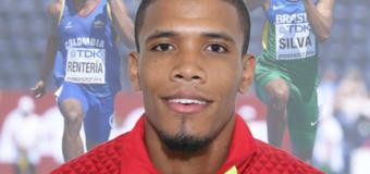 Jhonny Rentería, el atleta de proyección que se convirtió en referente nacional