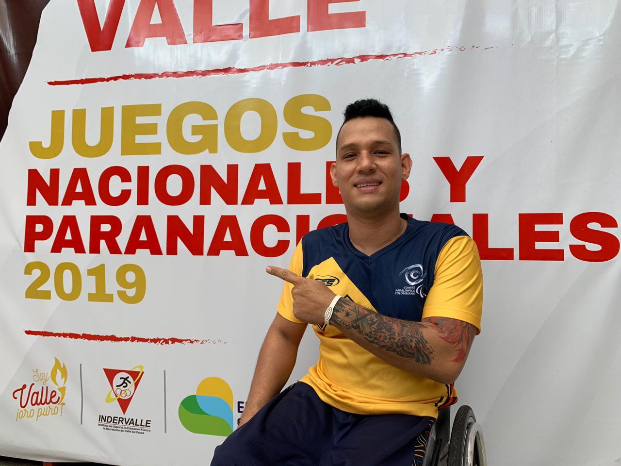 Con su experiencia y efectivas cestas, Andrés Flórez llega por la de oro en los Paranacionales 2019