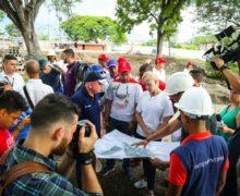 Gobierno Departamental llegó con 3 grandes obras de impacto social y deportivo al municipio de Pradera