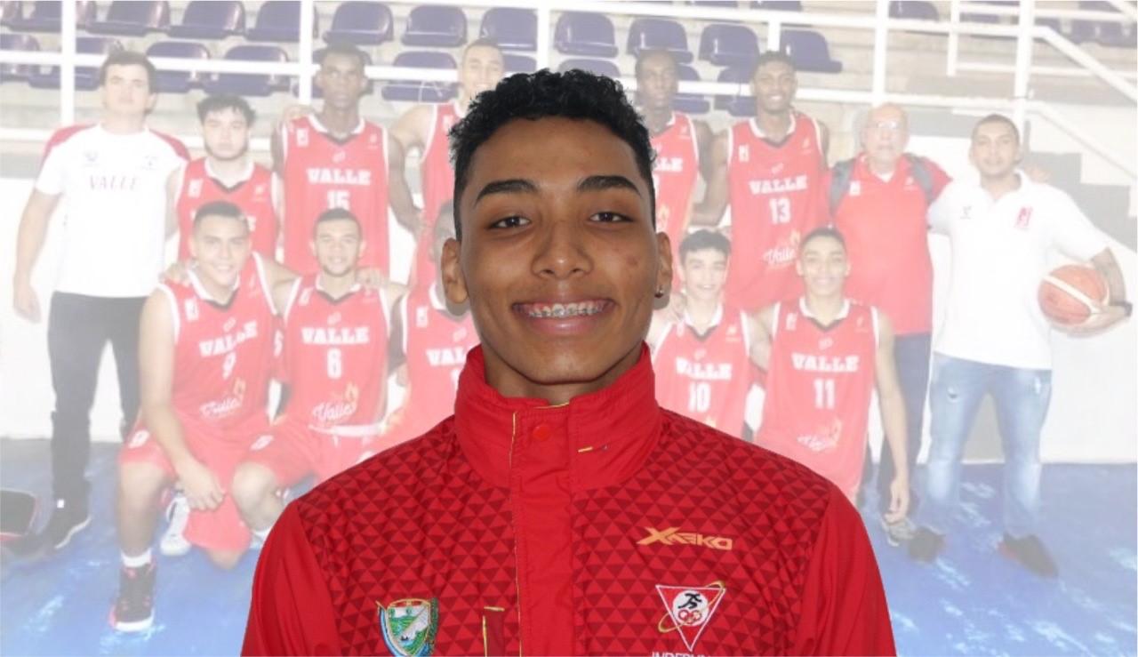 Samuel Mojica y el equipo rojiblanco de baloncesto del Valle regresan por la de oro a los Juegos Nacionales