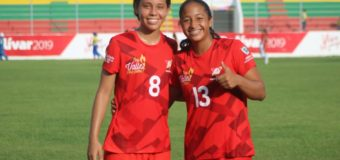 Selección Valle juvenil femenina de fútbol inicia con pie derecho su participación en Juegos Nacionales