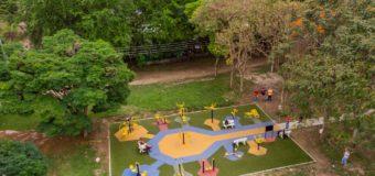 Parque Bosque Municipal en Florida ya cuenta con un nuevo espacio para la recreación y el deporte