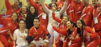 Vallecaucanos se destacaron en primera jornada de la esgrima en Juegos Nacionales 2019