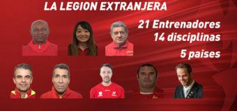 La legión extranjera de tecnicos del Valle Oro Puro.