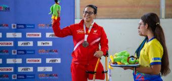 Yady Fernández debutó con medalla de bronce para el Valle en Juegos Paranacionales