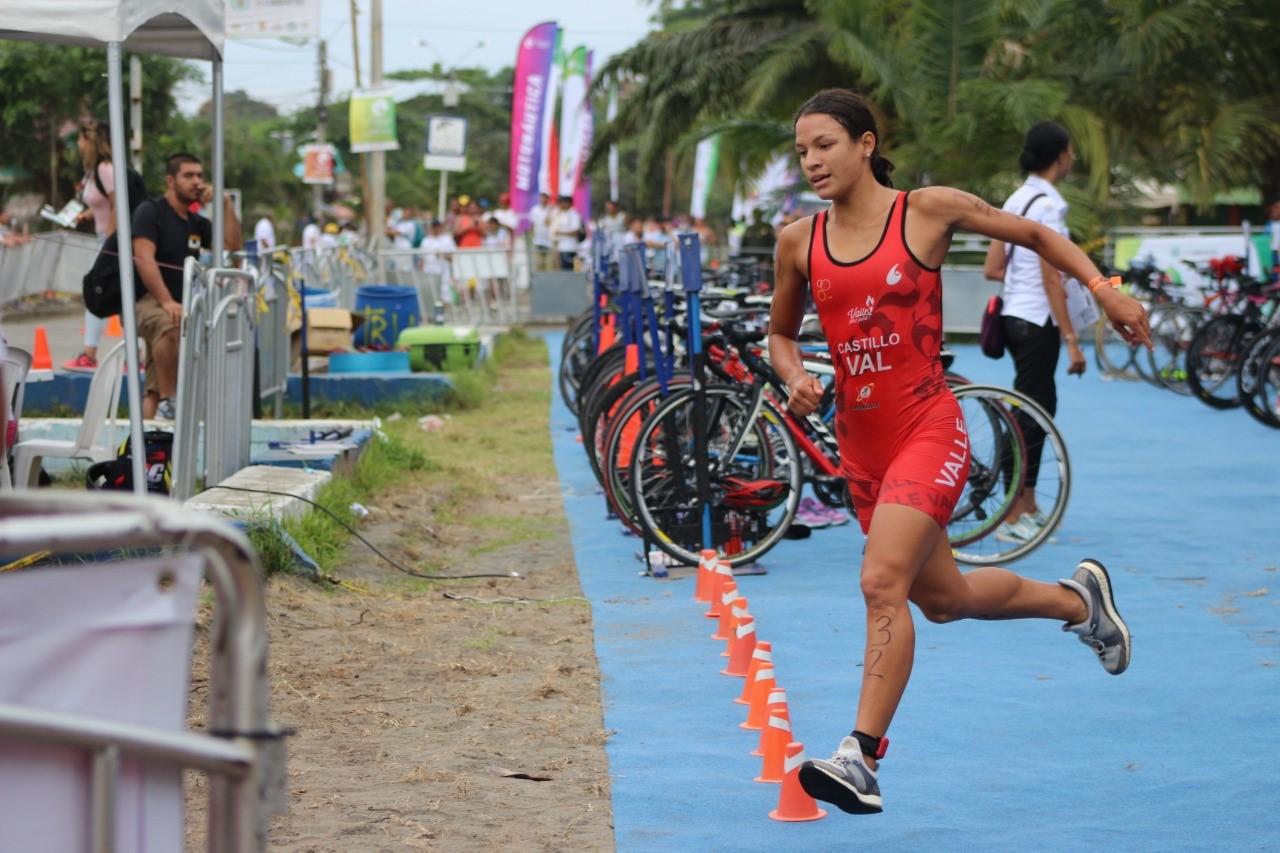 Diana Castillo, una triatleta de hierro que espera reinar en Cartagena