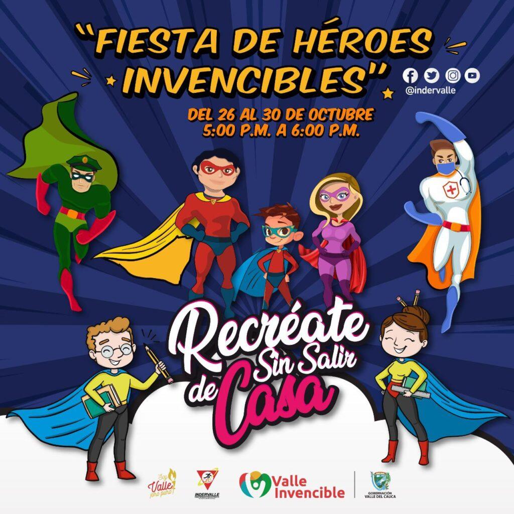 Fiesta de Héroes Invencibles @ Facebook Live de Indervalle